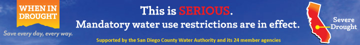 Drought banner SDCWA