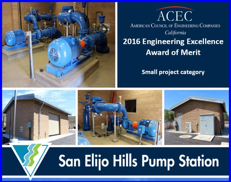 SEH pump station award