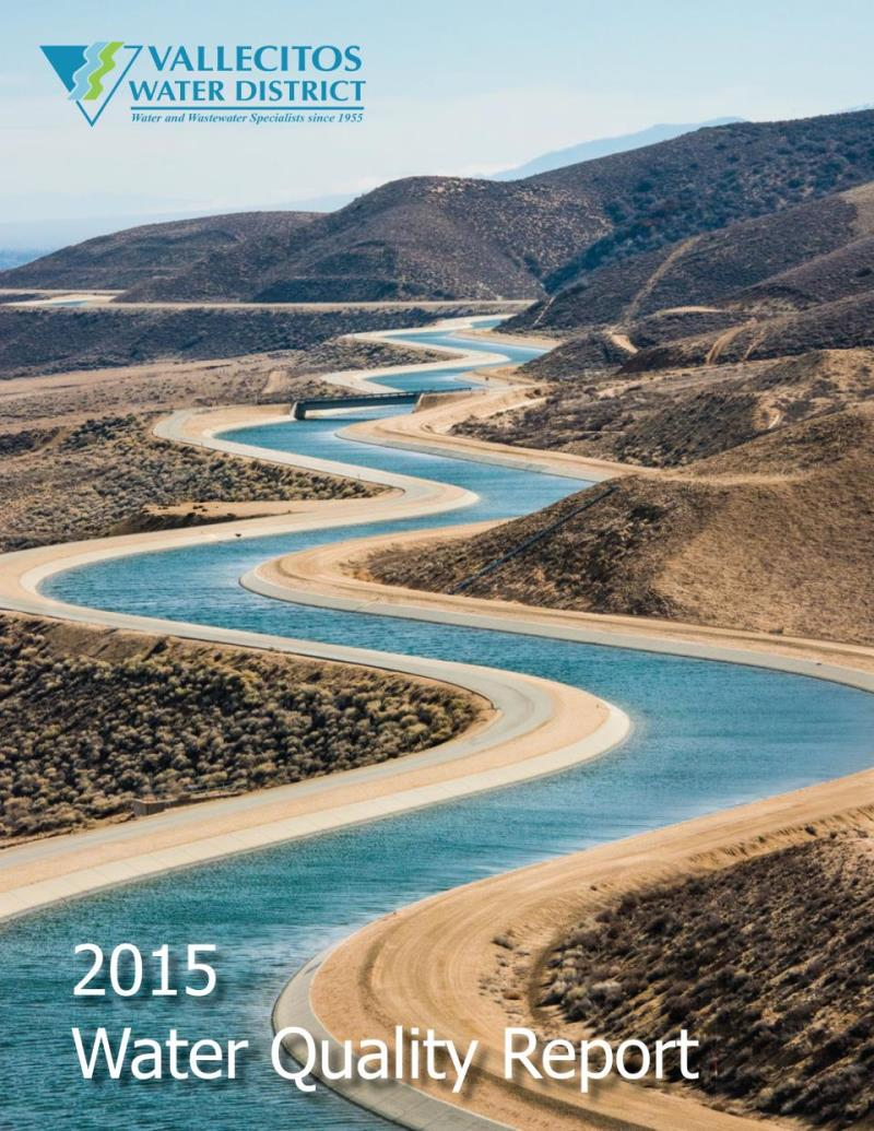 Water Quality Report 2015