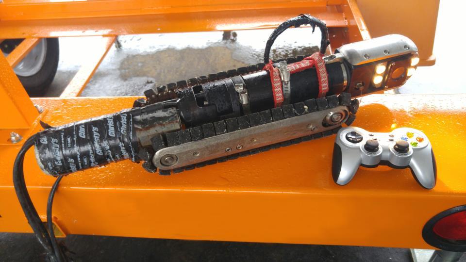 Wastewater (sewer line) camera equipment