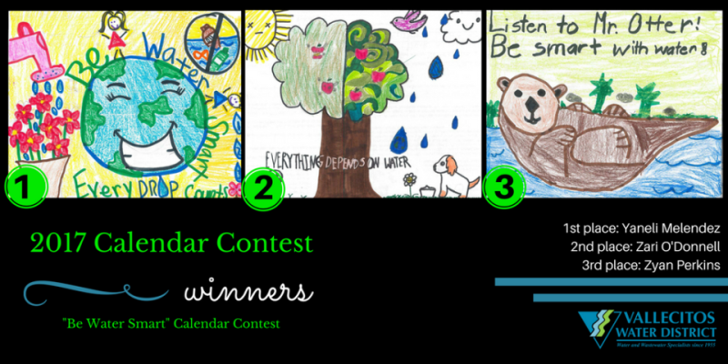 2017 Calendar Contest winners